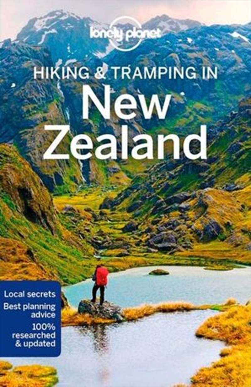 Hiking & Tramping in New Zealand Lonely Planet Travel Guide : 8th Edition | Paperback Book