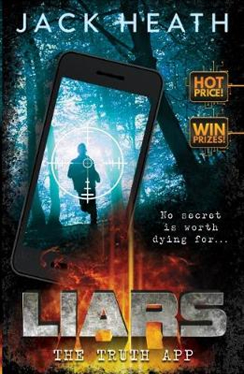 Liars #1: The Truth App | Paperback Book