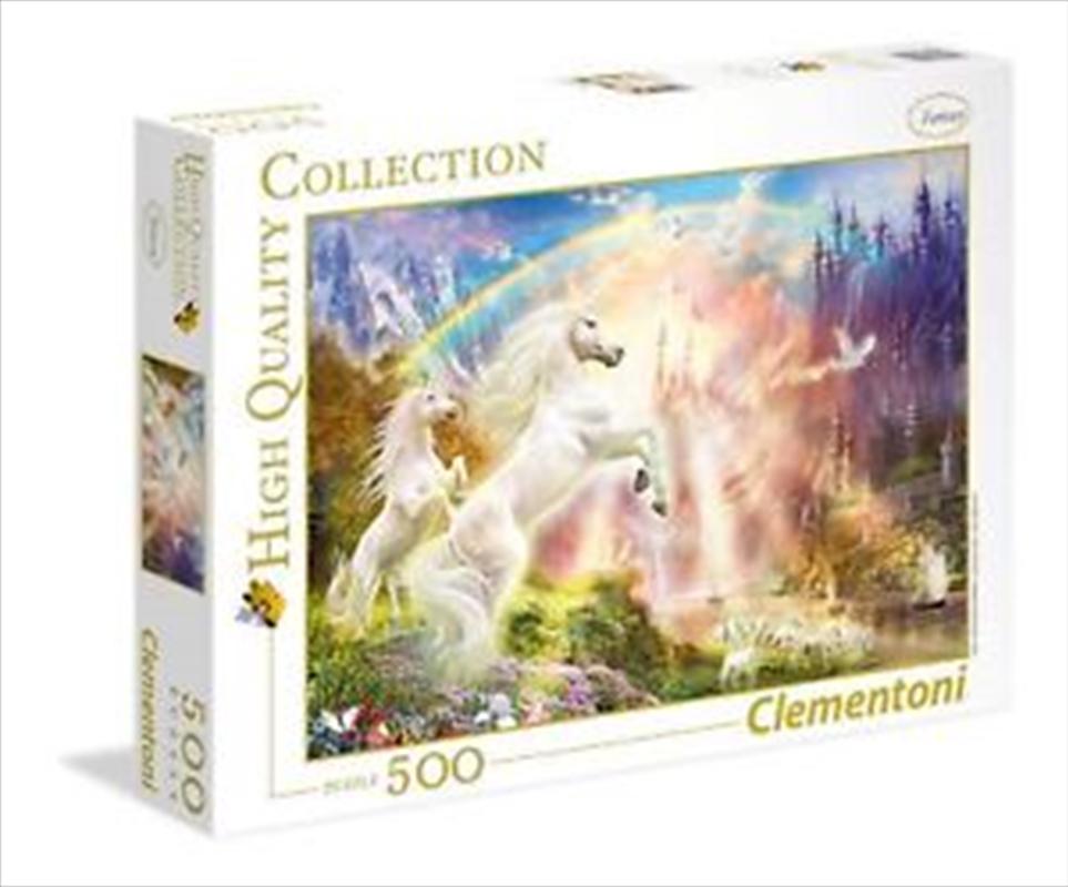 Sunset Unicorns 500 Piece Puzzle | Merchandise