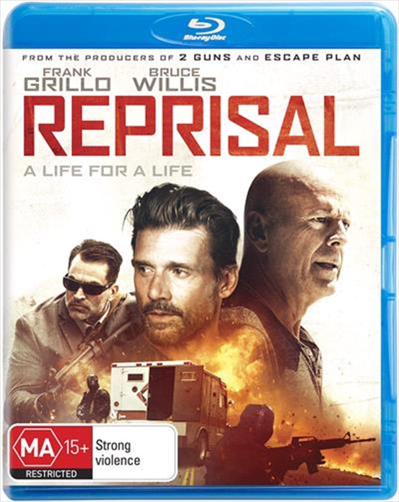 Reprisal   Blu-ray