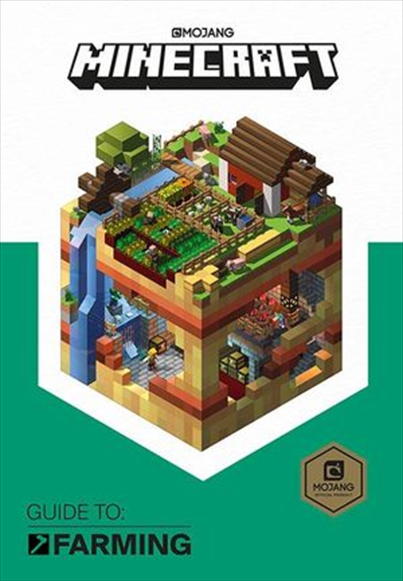 Minecraft Guide to Farming | Hardback Book