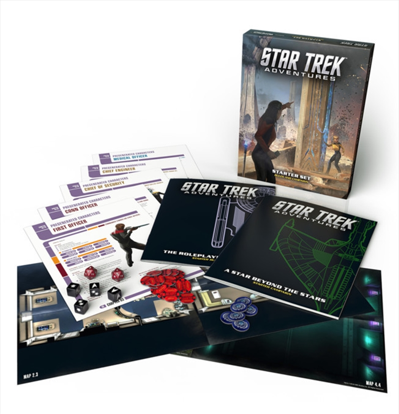 Star Trek Adventures RPG - Starter Set | Games