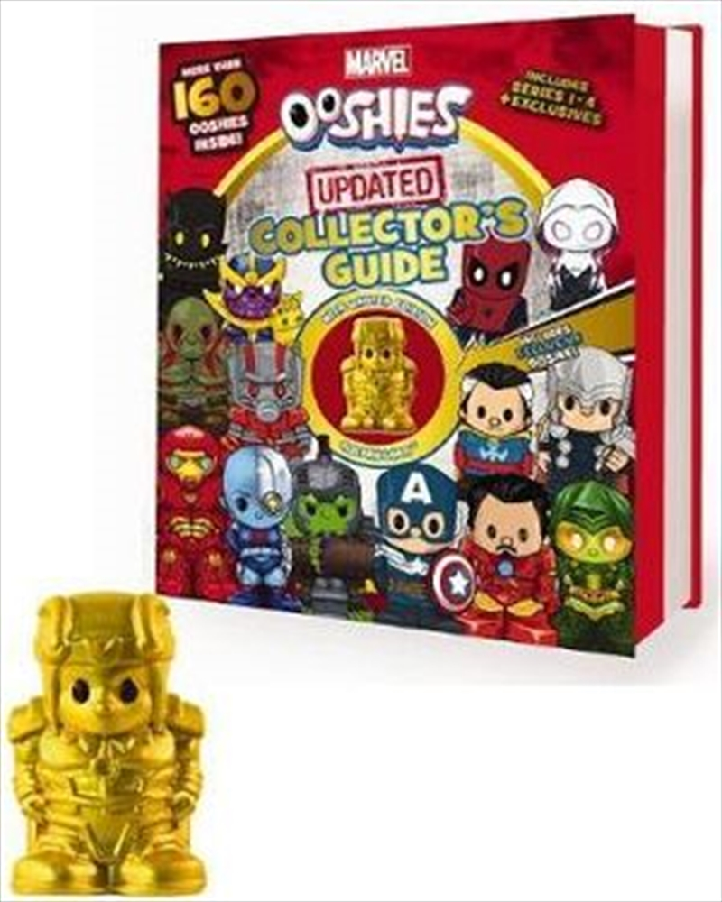 Marvel Ooshies Updated Collector's Guide | Hardback Book