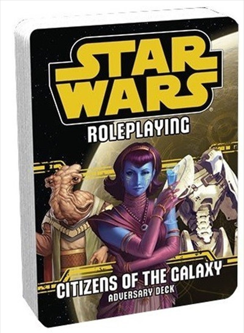 Star Wars RPG Citizens Of The GalaxyAdversary Deck | Games