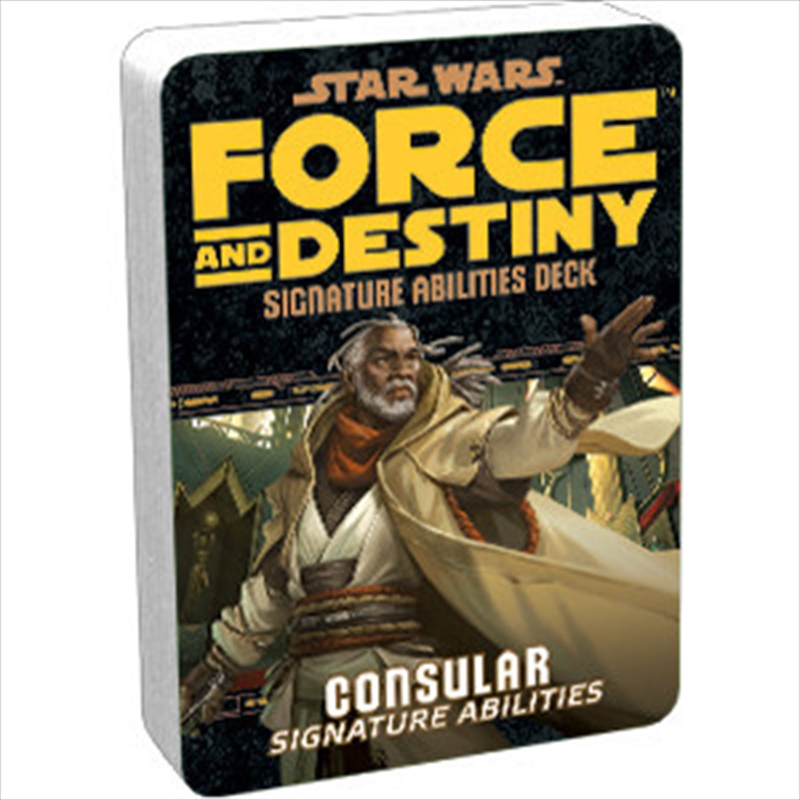 Star Wars RPG Consular Signature Abilities Deck | Games
