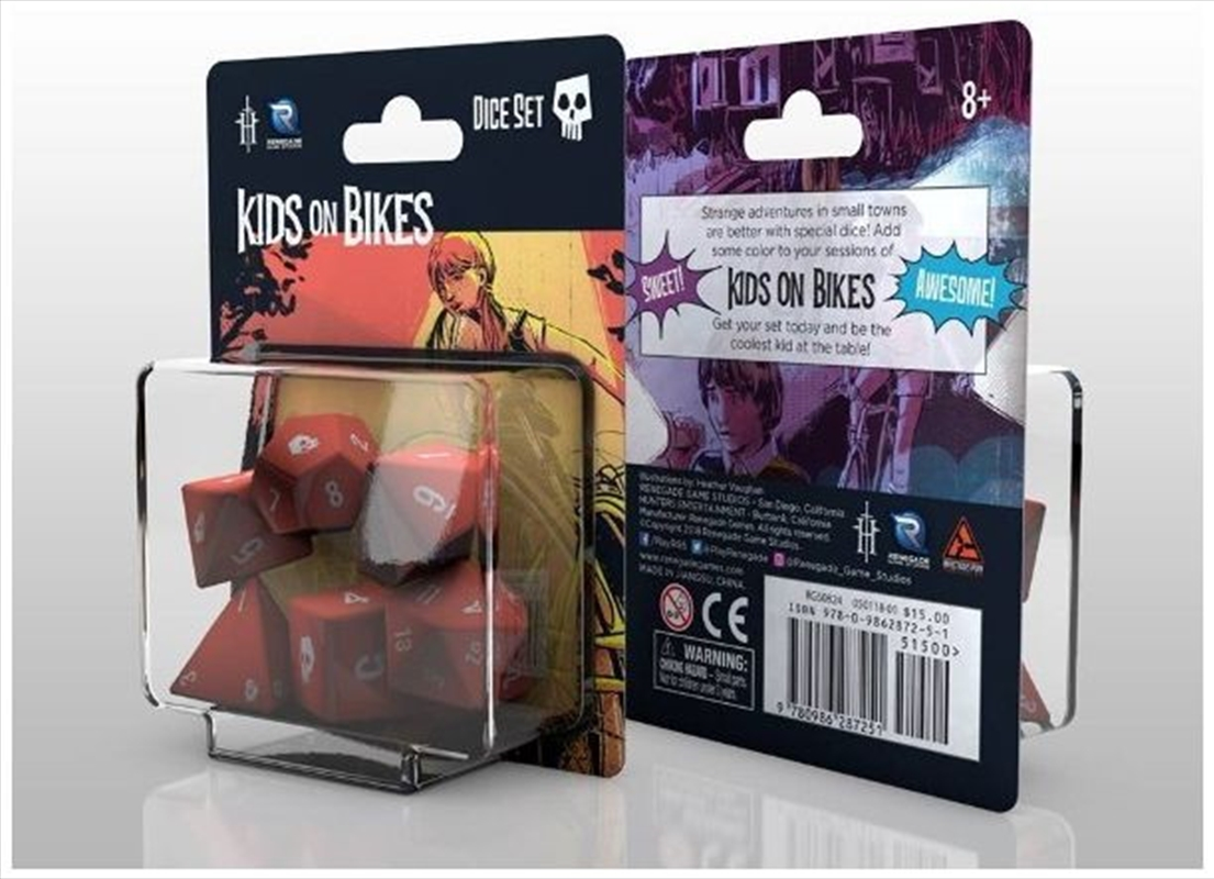 Kids on Bikes Role Playing Game - Dice Set | Games