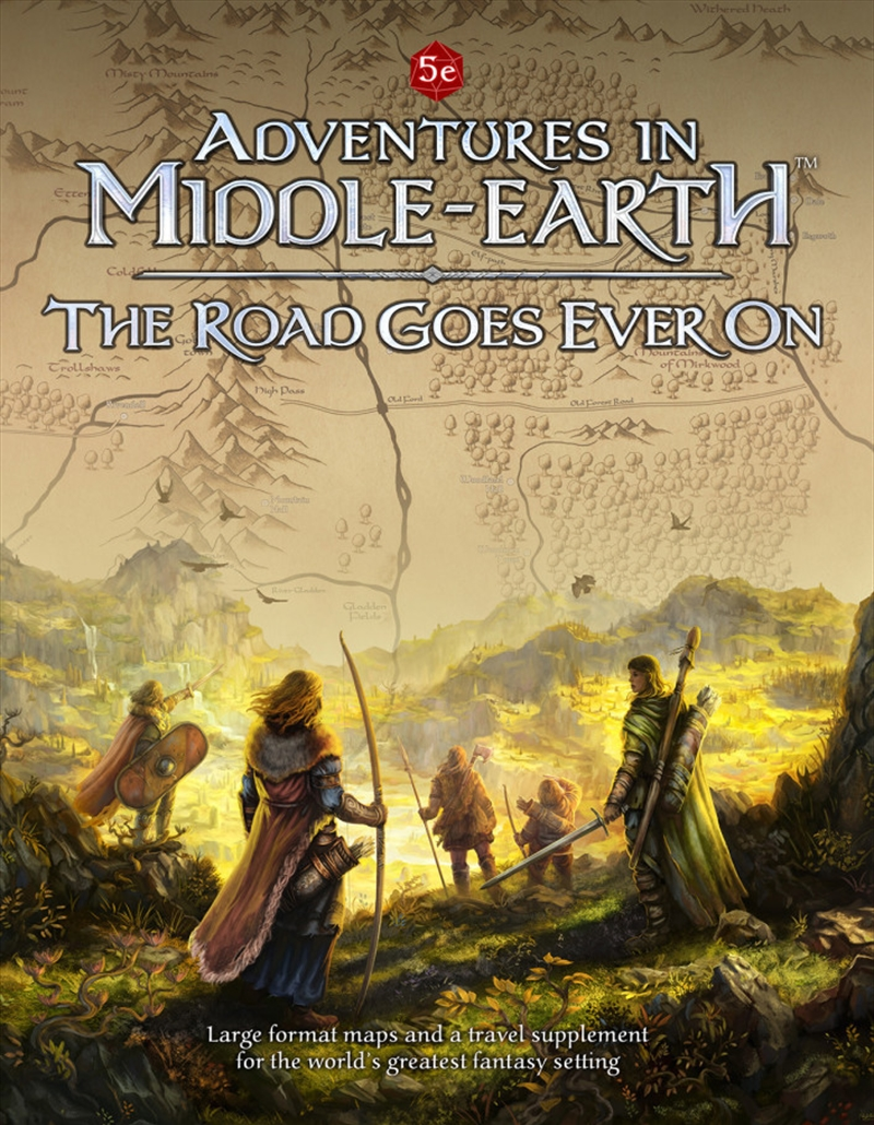 Adventures in Middle Earth RPG the Road Goes Ever On   Games