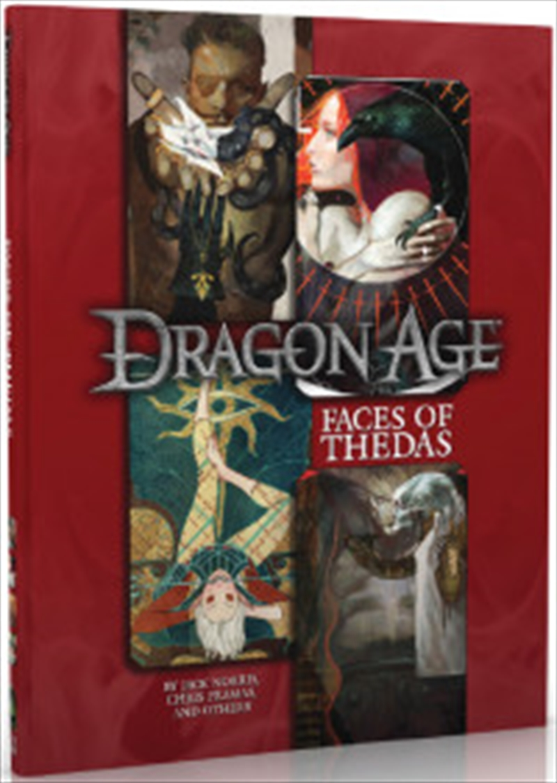 Dragon Age - Face of Thedas Sourcebook | Games