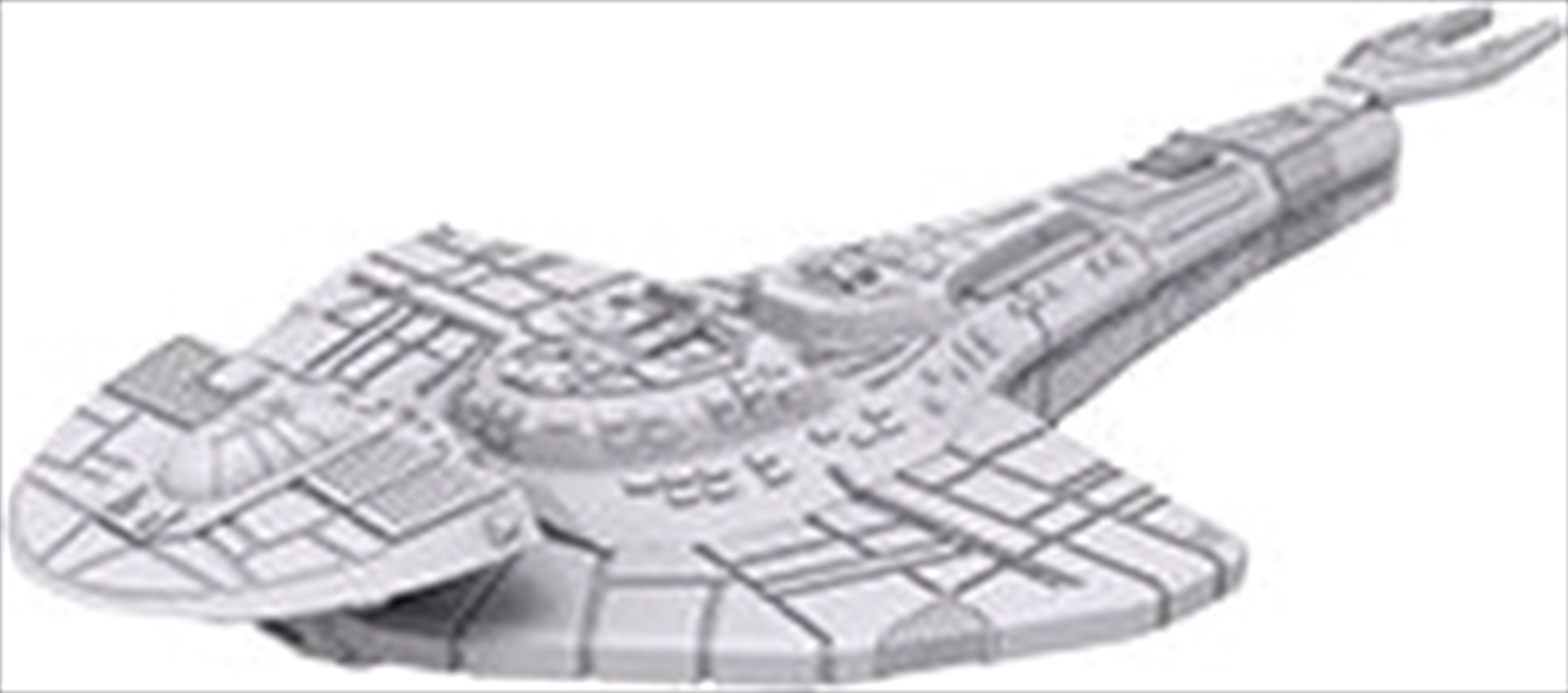 Star Trek - Unpainted Ships: Cardassian Galor Class | Merchandise