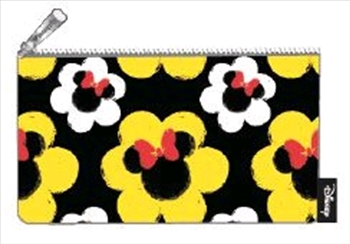 Mickey Mouse - Minnie Flower Print Pencil Case | Merchandise