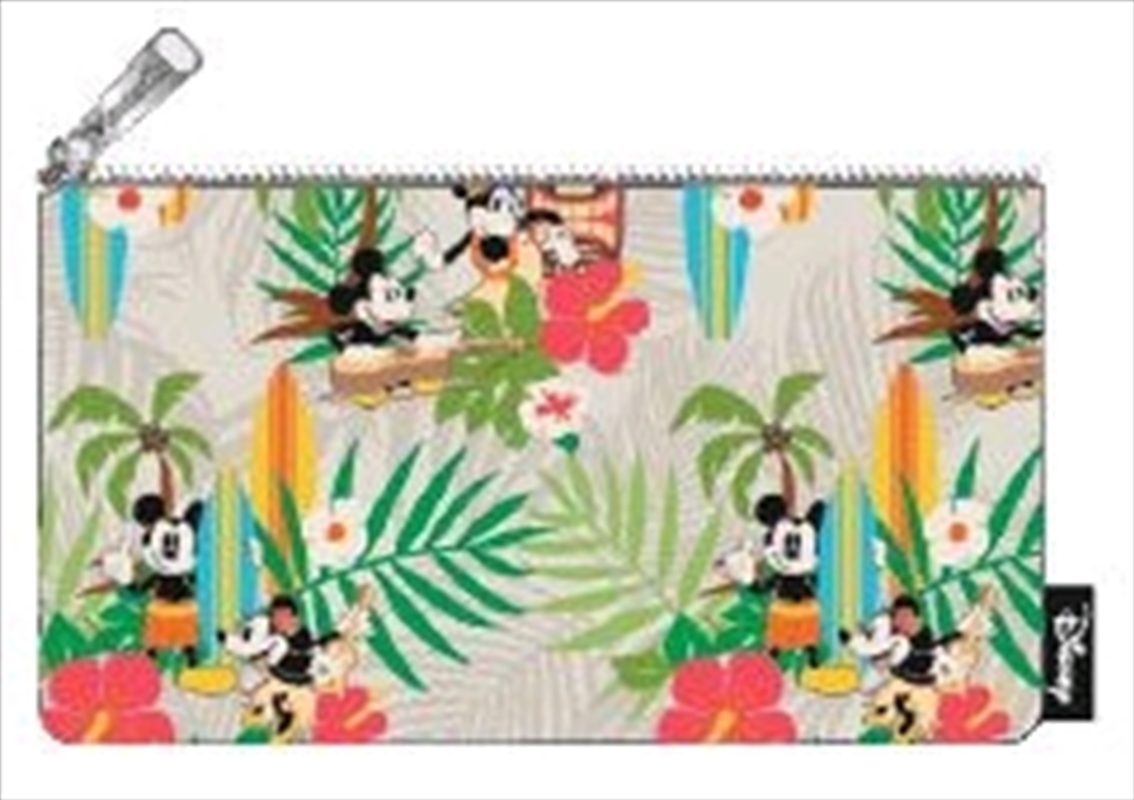 Mickey Mouse - Mickey Hawaii Print Pencil Case | Merchandise