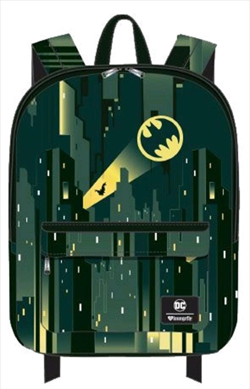 Batman - Gotham with Bat Signal Backpack | Apparel