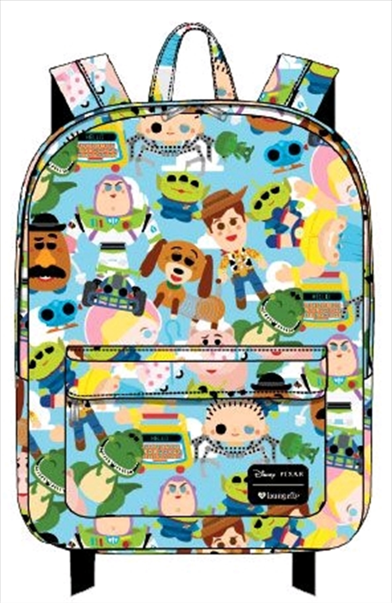 Toy Story - Chibi Print Backpack | Apparel