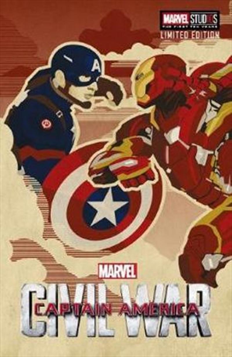 Marvel: Captain America Civil War Movie Novel | Paperback Book