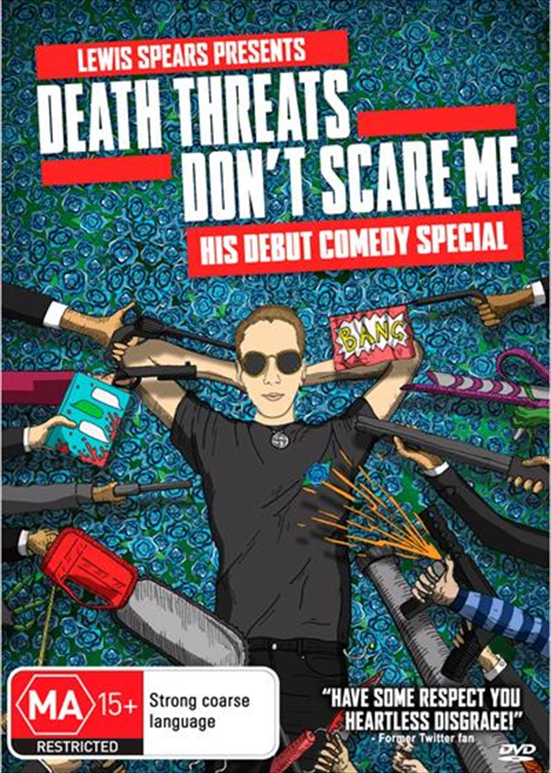 Lewis Spears - Death Threats Don't Scare Me | DVD