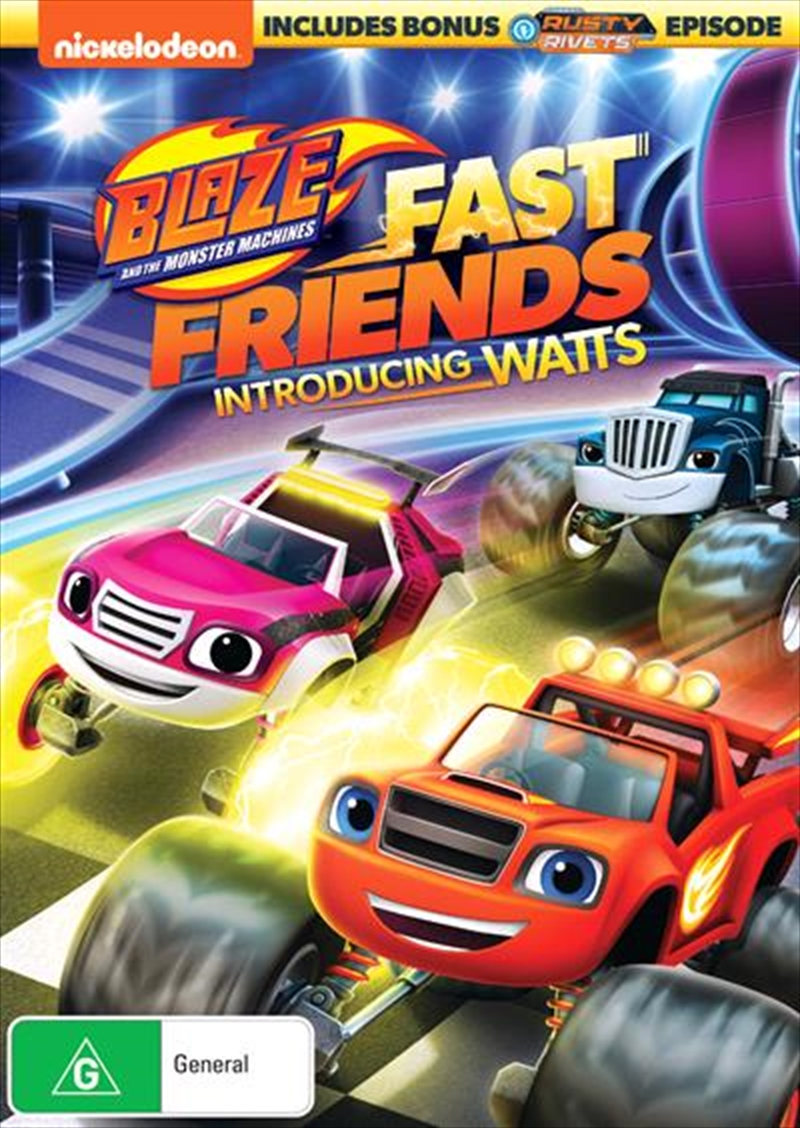Blaze And The Monster Machines - Fast Friends! | DVD