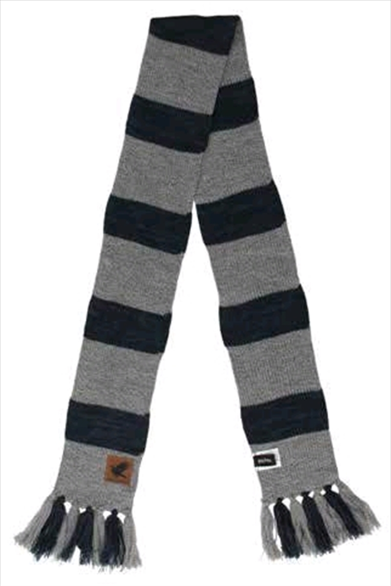 Harry Potter - Ravenclaw Heathered Knit Scarf   Apparel