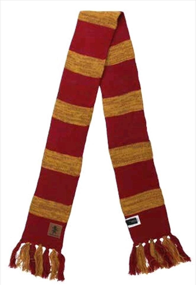 Harry Potter - Gryffindor Heathered Knit Scarf | Apparel