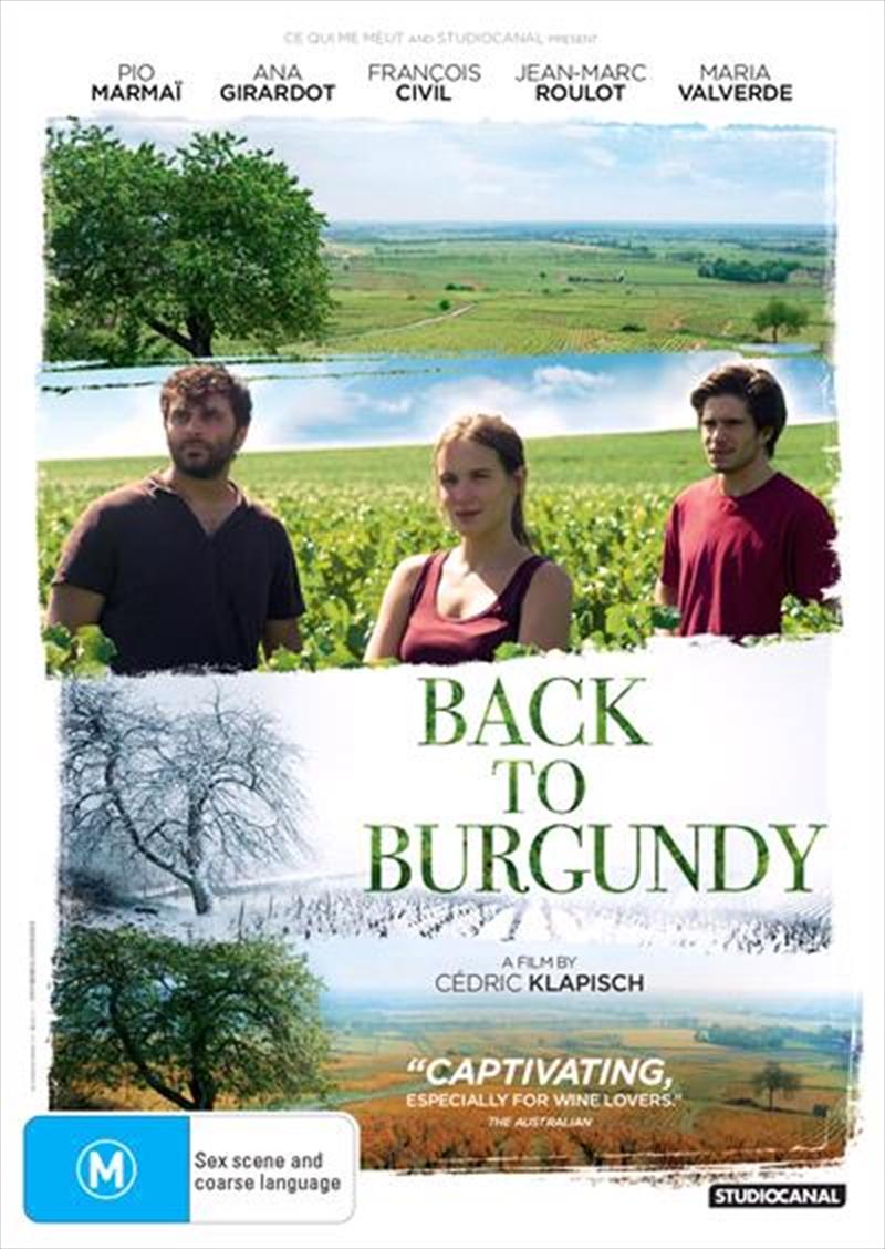 Back To Burgundy | DVD