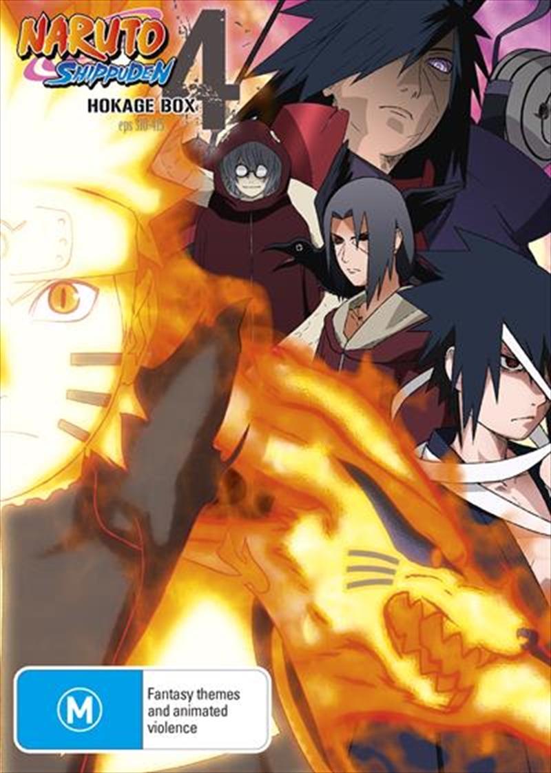 Naruto Shippuden Hokage - Box 4 - Eps 310-415 | DVD