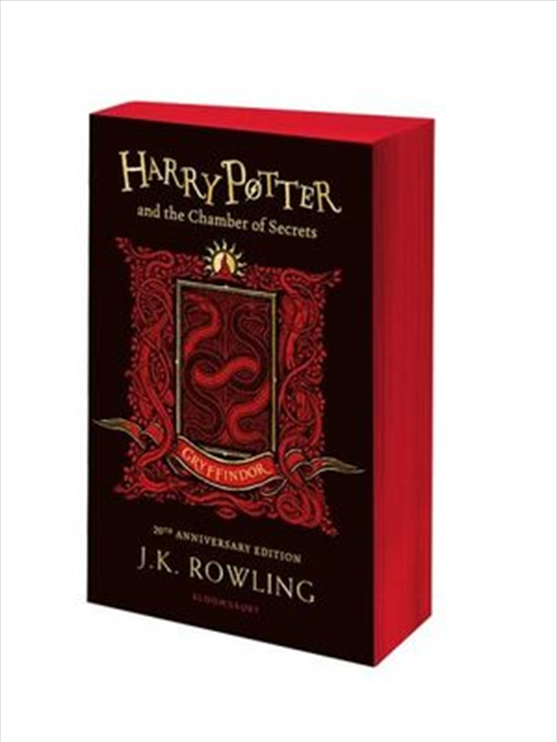 Harry Potter and the Chamber of Secrets - Gryffindor Edition | Paperback Book