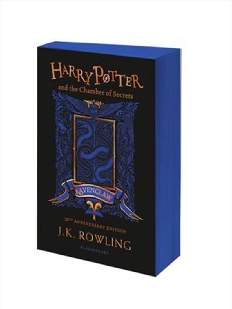 Harry Potter and the Chamber of Secrets - Ravenclaw Edition | Paperback Book