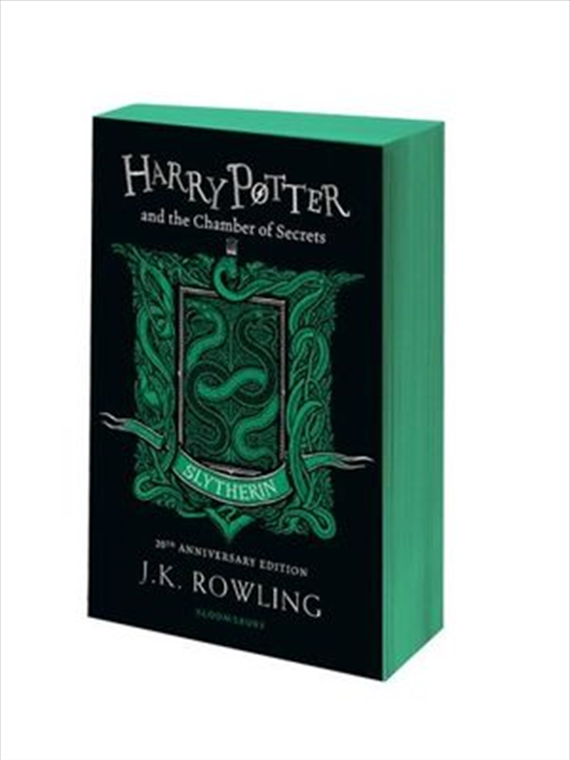 Harry Potter and the Chamber of Secrets - Slytherin Edition | Paperback Book