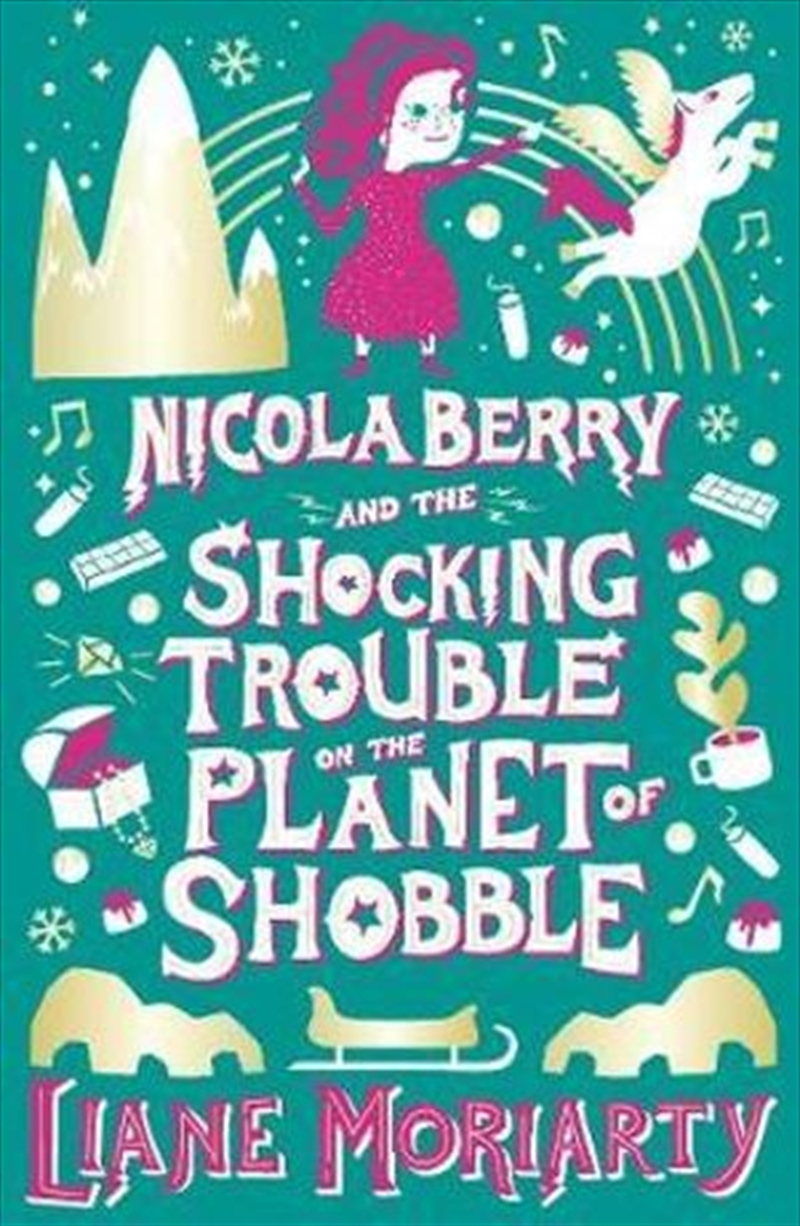 Nicola Berry and The Shocking Trouble on the Planet of Shobble Nicola Berry : Book 2 | Paperback Book