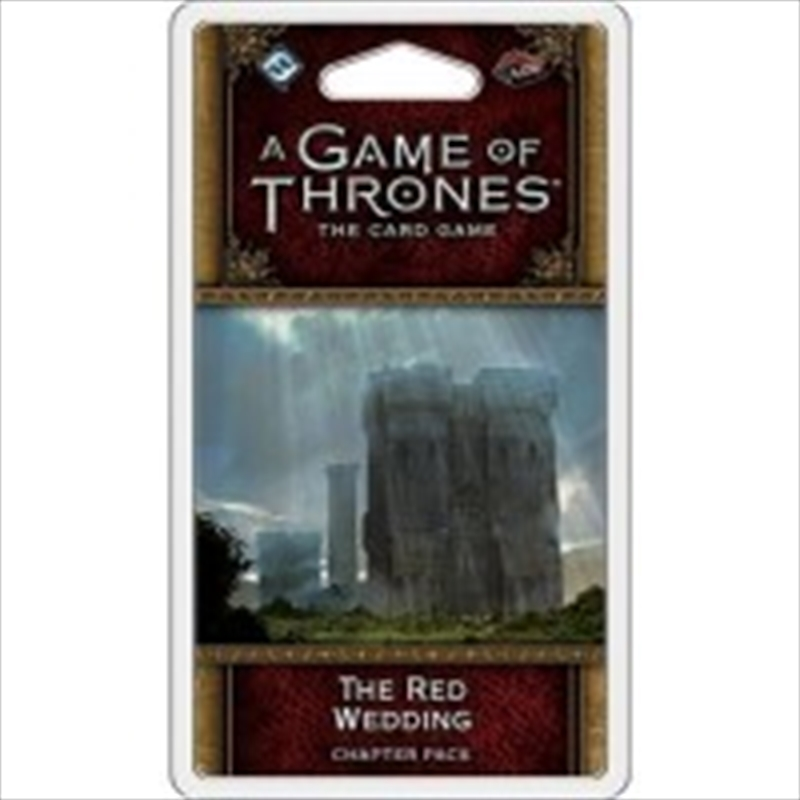 A Game of Thrones LCG: The Red Wedding   Merchandise
