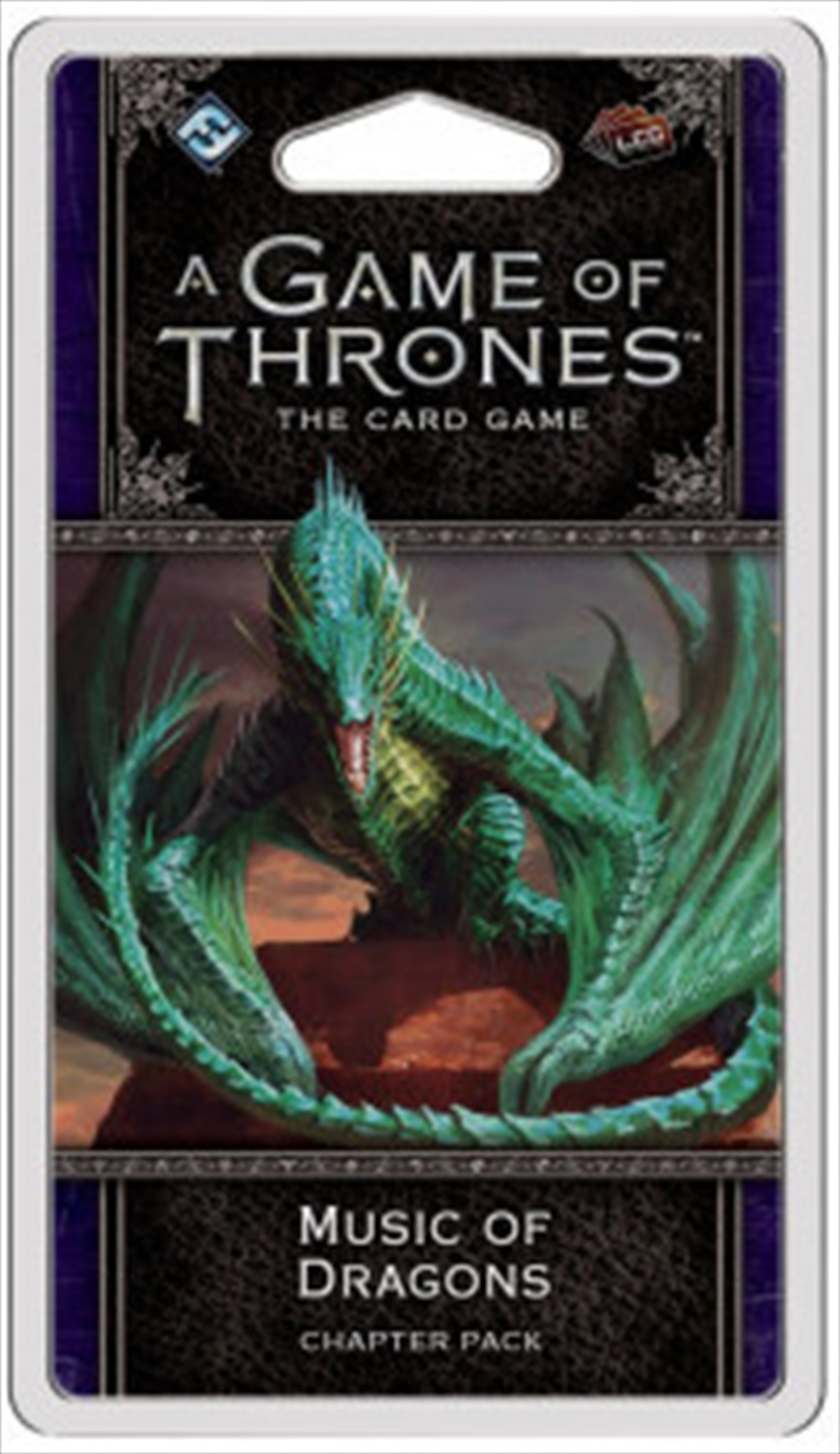 A Game of Thrones LCG - Music of Dragons Chapter Pack | Merchandise