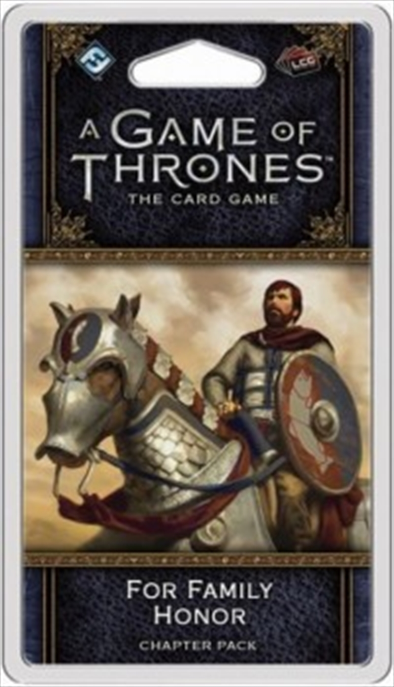 A Game of Thrones LCG 2nd Edition: For Family Honor Chapter Pack | Merchandise
