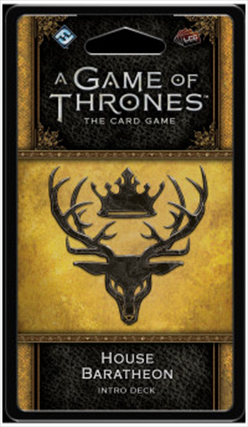A Game of Thrones LCG House Baratheon Intro Deck | Merchandise