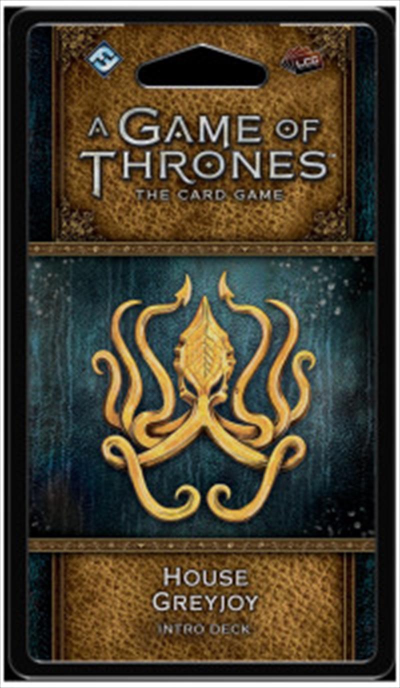 A Game of Thrones LCG House Greyjoy Intro Deck | Merchandise