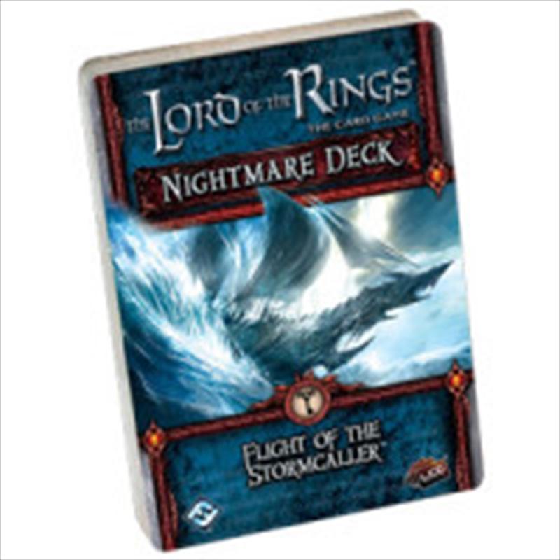 Lord of the Rings LCG - Flight of the Stormcaller Nightmare Deck | Merchandise