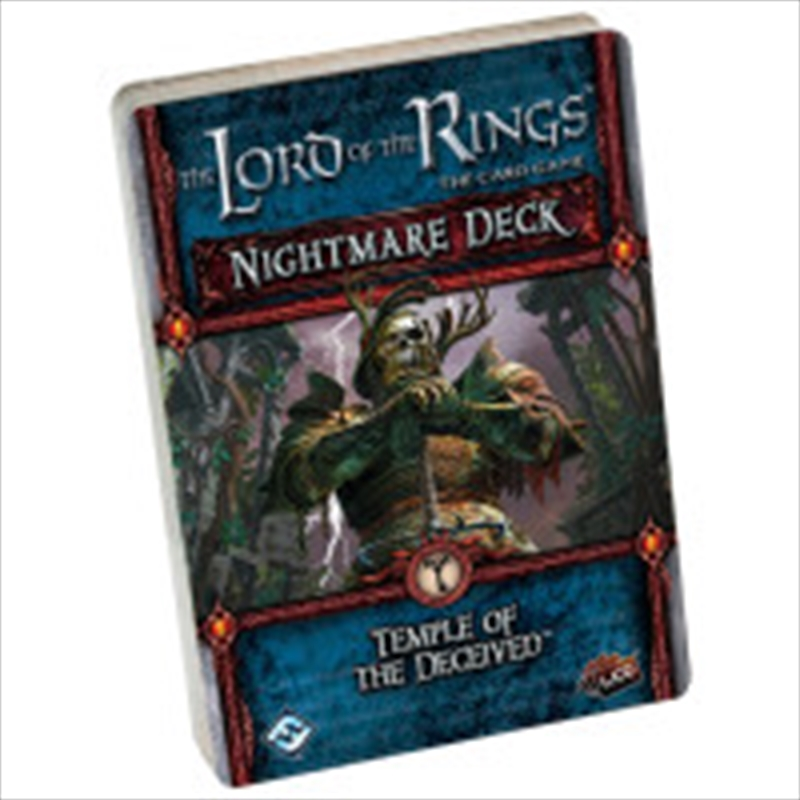 Lord of the Rings LCG - Temple of the Deceived Nightmare Deck | Merchandise