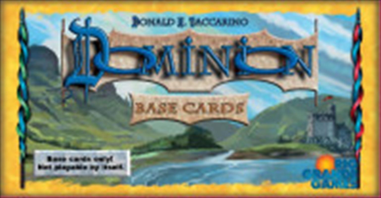 Dominion Base Cards | Merchandise