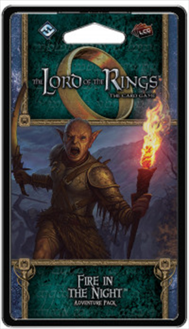 Lord of the Rings LCG - Fire in the Night Adventure Pack | Merchandise