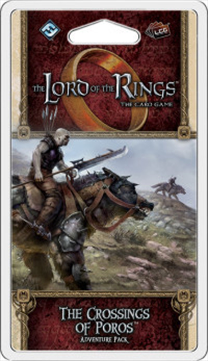 Lord of the Rings LCG - The Crossings of Poros Adventure Pack | Merchandise