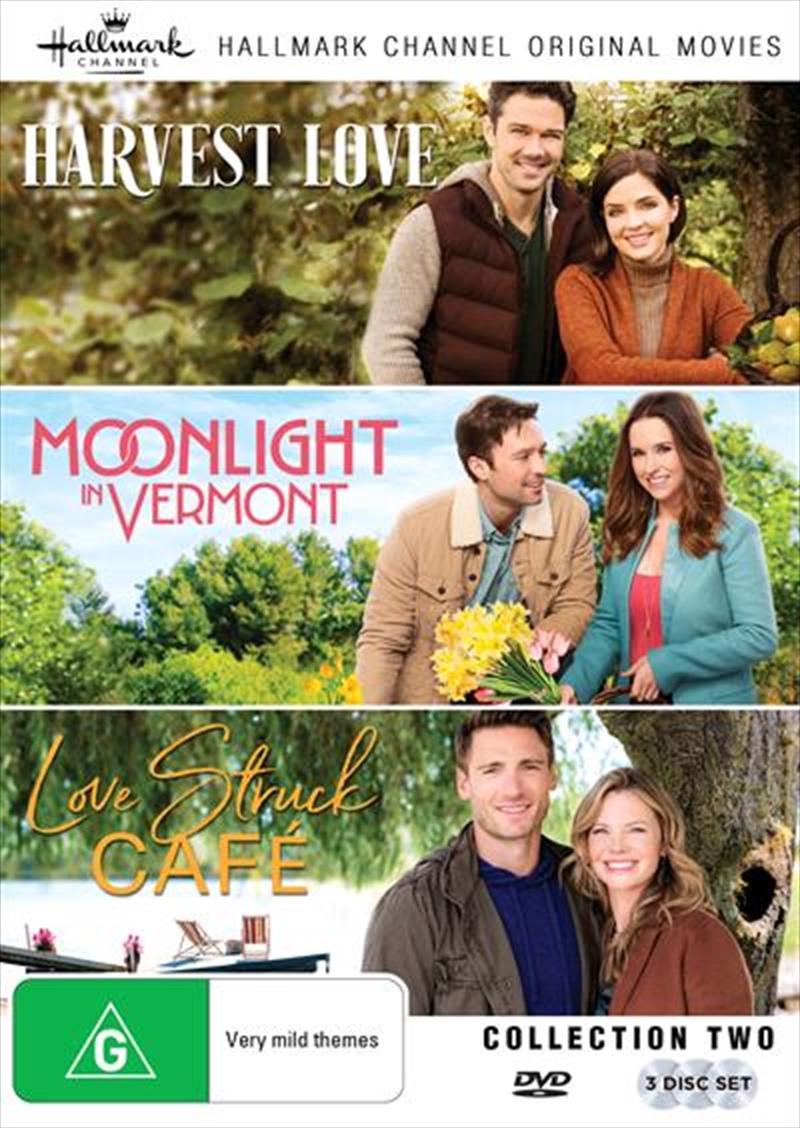 Hallmark - Harvest Love / Love Struck Cafe / Moonlight In Vermont - Collection 2 | DVD