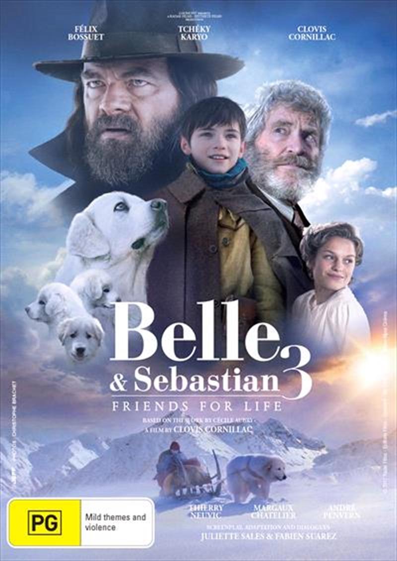 Belle And Sebastian 3   DVD