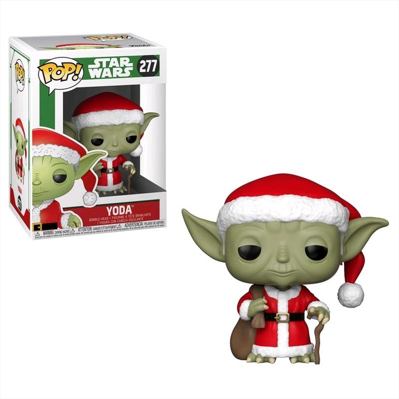 Star Wars - Yoda Santa Pop! Vinyl | Pop Vinyl