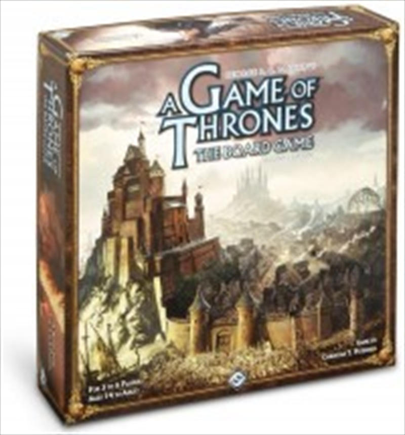 A Game of Thrones Board Game 2nd Edition | Merchandise