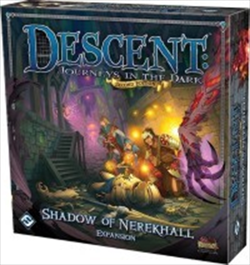 Descent 2nd Edition Shadow of Nerekhall Games, Merchandise