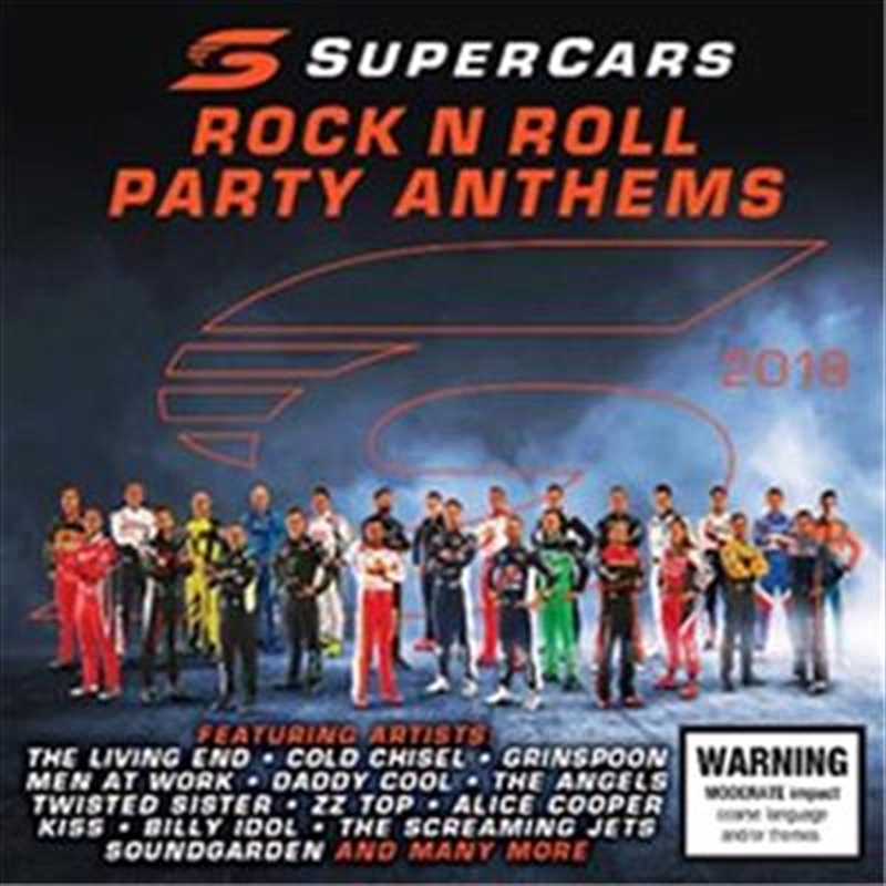 Supercars Australia - Rock N Roll Party Anthems 2018 | CD