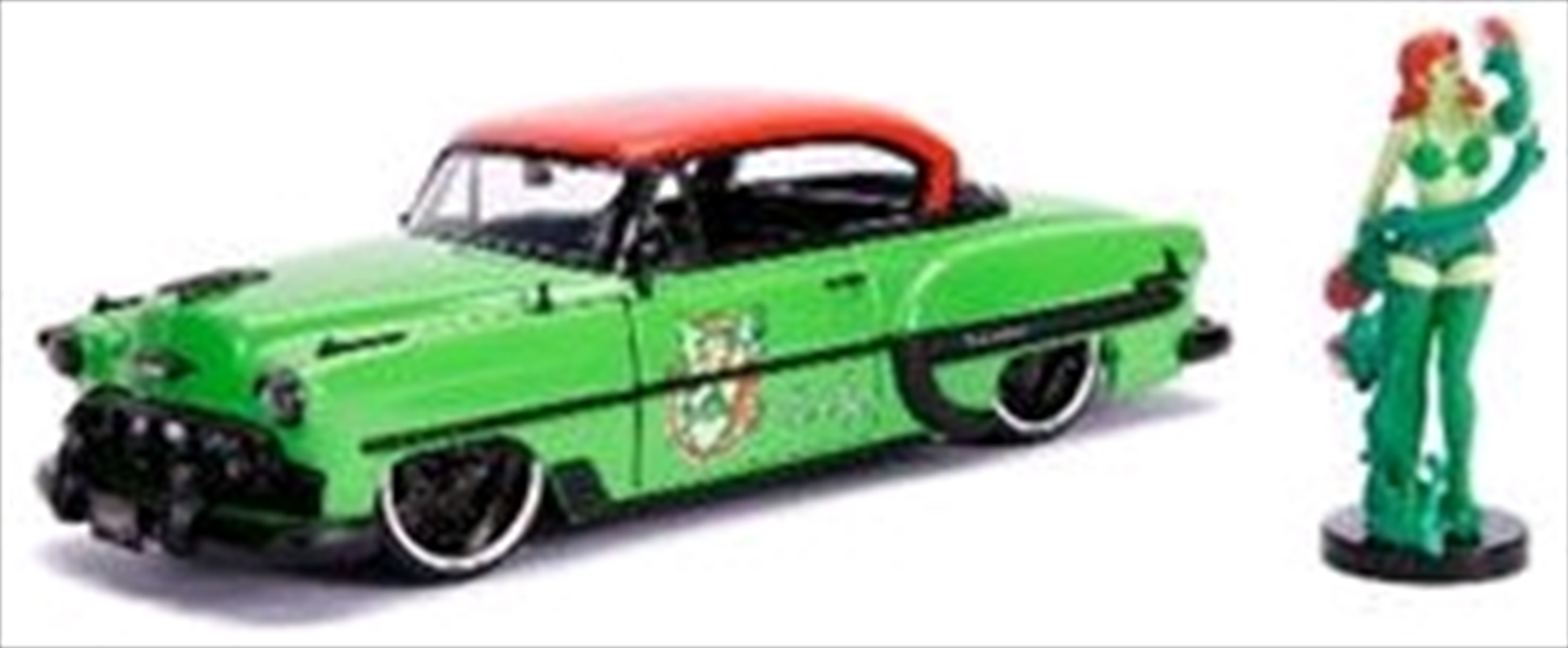DC Bombshells - Poison Ivy 1953 Chevy Bel Air 1:24 Scale Hollywood Rides Diecast Vehicle | Merchandise