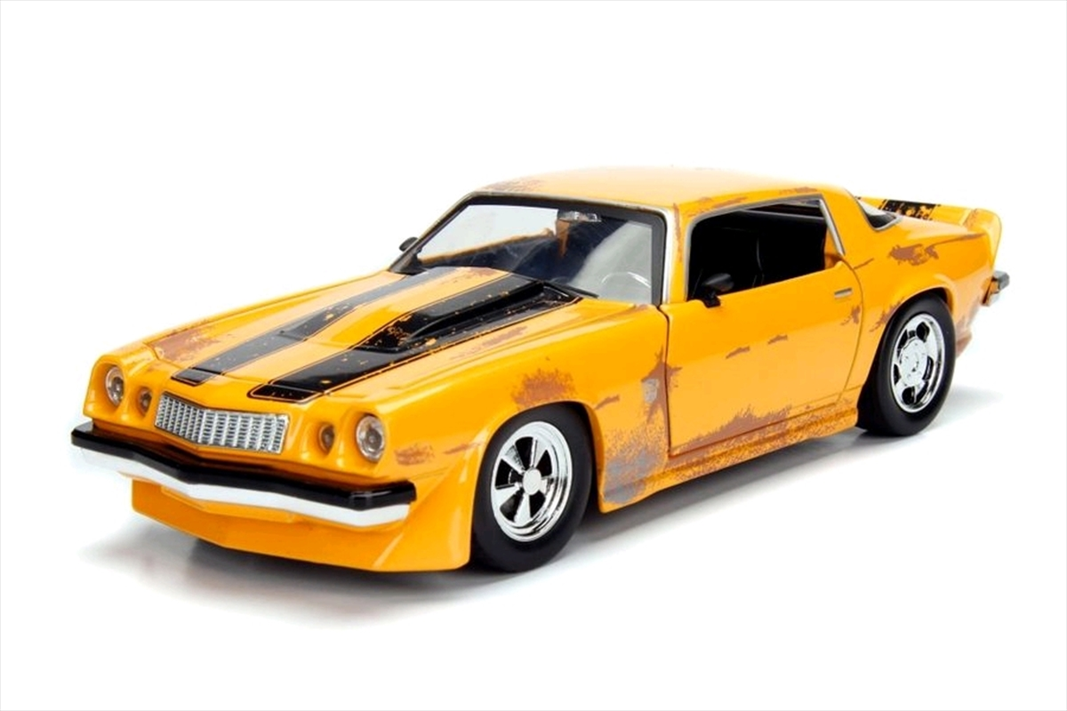 Transformers - 1977 Chevy Camaro 1:24 Scale Hollywood Ride Diecast Vehicle | Merchandise