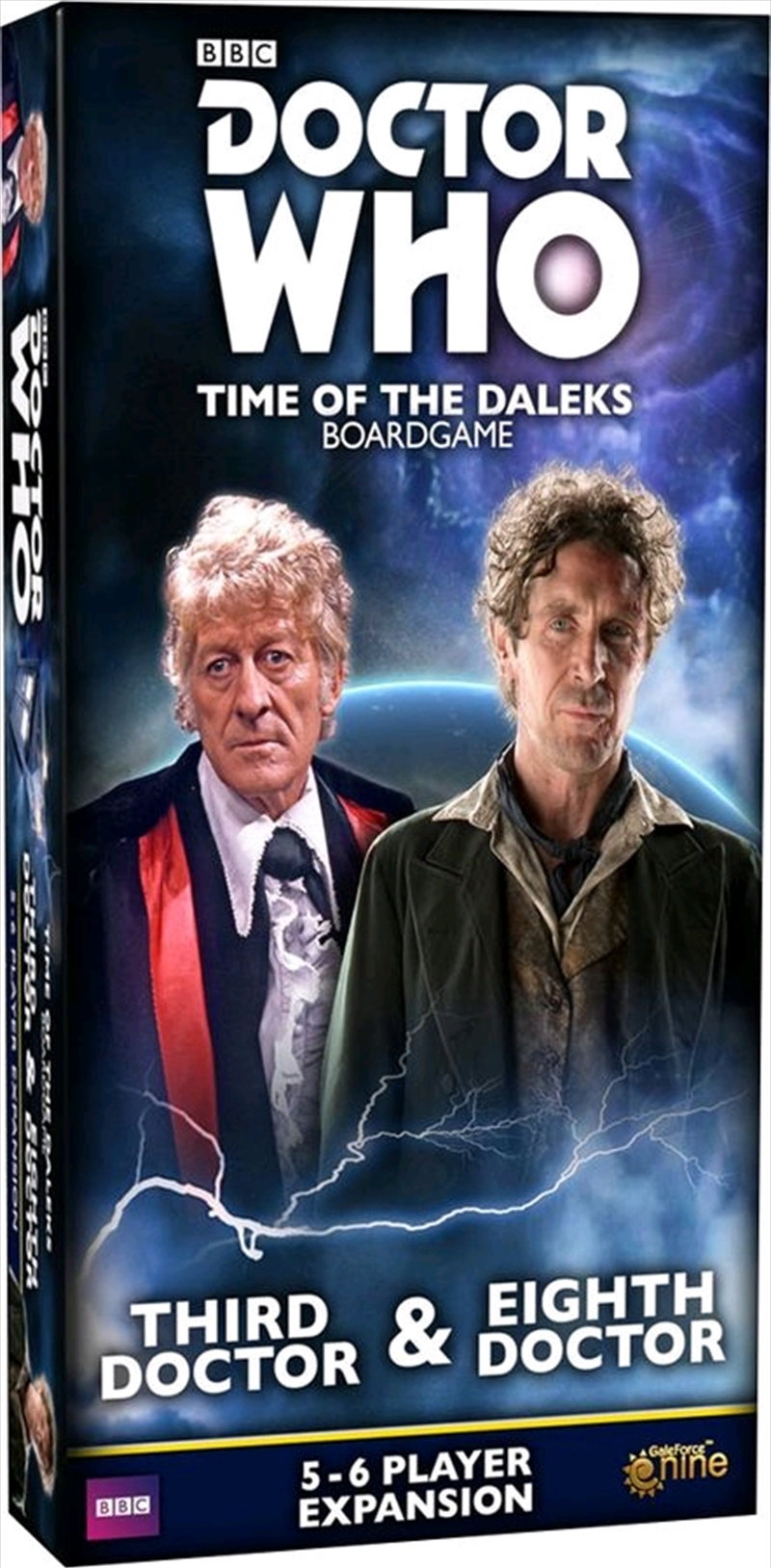 Doctor Who - Time of the Daleks Third & Eighth Doctor Expansion | Merchandise