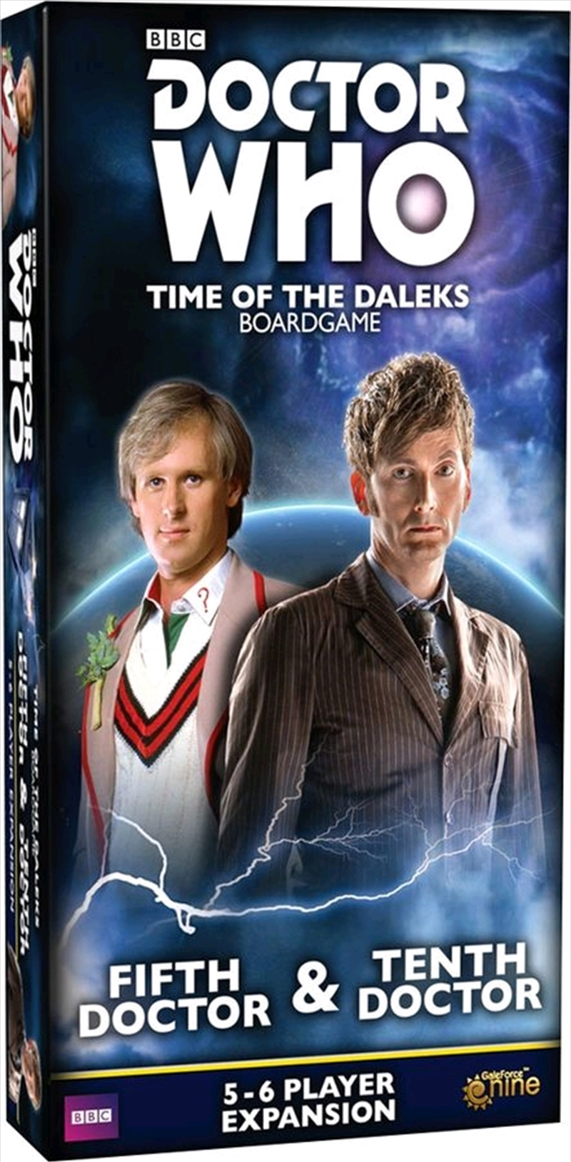 Doctor Who - Time of the Daleks Fifth & Tenth Doctor Expansion   Merchandise