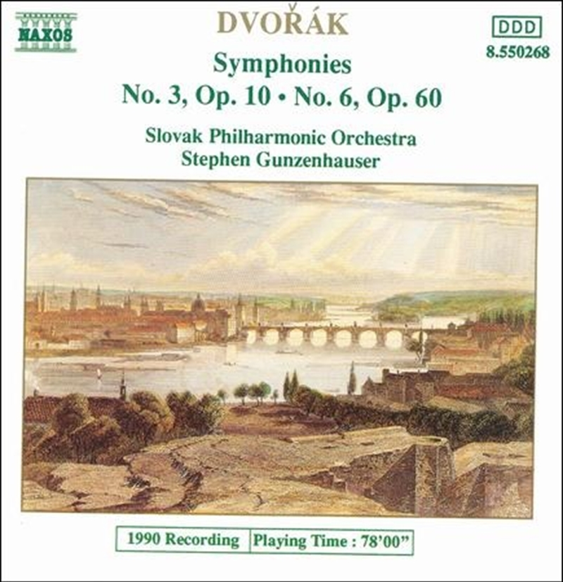 Dvorak - Symphonies No. 3 And 6 | CD