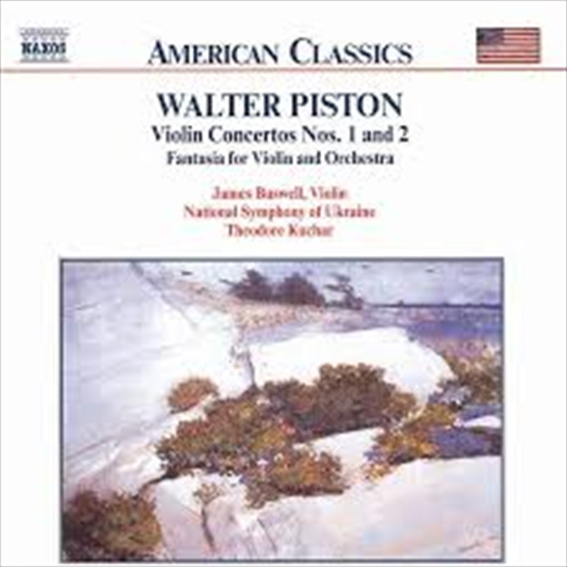 Piston - Violin Concerots - No 1 And 2 | CD
